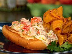 Lobster Rolls recipe via Food Network