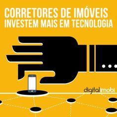 Você percebeu que cada vez mais investimos em tecnologia?  Os corretores de imóveis também investem para ajudá-los no seu dia-a-dia profissional.   http://www.digitalimobi.com.br/blog/marketing/marketing-imobiliario/corretores-imoveis-investem-mais-tecnologia/