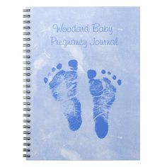 Shop Cute Baby Boy Footprints Pregnancy Journal created by PhotographyTKDesigns. Personalize it with photos & text or purchase as is! Baby Boys, Cute Baby Boy, Cute Babies, Pregnancy Journal, Pregnancy Tips, Pregnancy Diary, Pregnancy Stages, Third Baby, First Baby