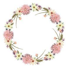 цветы веночки