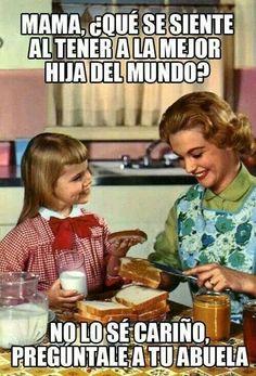 que se siente tener a la mejor hija del mundo? #learn #spanish