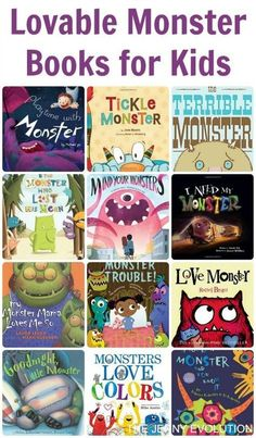 Lovable Monster Books for Kids