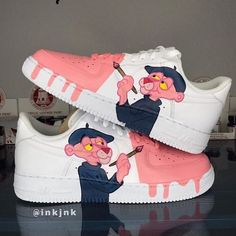 style Aesthetic shoes - Behind The Scenes By kickzincolor Custom Vans Shoes, Custom Painted Shoes, Jordan Shoes Girls, Girls Shoes, Shoes Women, Sneaker Diy, Cute Sneakers, Vans Sneakers, Nike Shoes Air Force