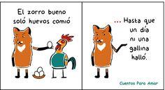 Cuentos para amar: Microcuento infantil: El zorro bueno.