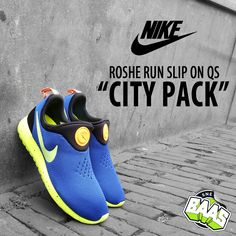 "Nike Roshe Run Slip On  QS ""City Pack""   Release: 09.05.14   www.sneakerbaas.nl   #NIKE #CITY #PACK #FRESH"