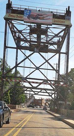 """""""The Crawfish Bridge"""" - The Namesake - The Bridge Across Bayou Teche, Breaux Bridge, Louisiana"""