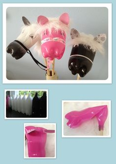 pet bottle stick horses