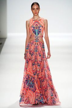 fashionably petite: Mara Hoffman Spring 2014 at Mercedes-Benz ...
