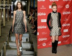 Chloe Grace Moretz In Christopher Kane - 'Laggies' Sundance Film Festival Premiere. Re-tweet and favorite it here: https://twitter.com/MyFashBlog/status/425357176131944448/photo/1