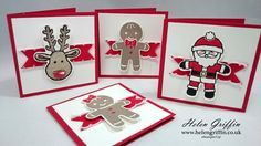 These little cards are so cute and adorable! And when you use the coordinating punch with the stamp set, it becomes a whole lot easier too.