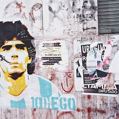 Residence: The beauty of La Bombonera where the streets are painted blue and yellow. See our latest instalment with  from Martin Erd online now   www.soccerbible.com #soccerbible #bocajuniors #maradona #residence by soccerbible