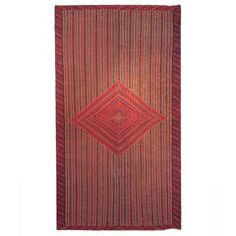Very Early Saltillo Serape, 18th Century