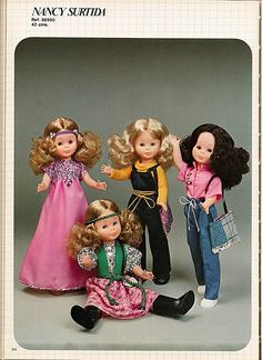 Vestidos Nancy, Toddler Arts And Crafts, Nancy Doll, Girl Dolls, 1980, Facebook, Bathroom, Baby, Life