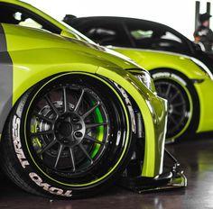 Line-up.  #bmw  #bimmer  #porsche  #porsche911  #m2  #m3  #wheels  #rims  #rolloface  #toyotires