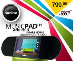MusicPAD H1 - VONINO - Inspired by Technology   Tablete PC * TV Box * Media Player * GPS *... MusicPad, Streaming music, Radio , Anghami VONINO.RO