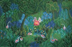 Foret Fleurs Oiseaux, André Narval