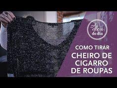 Como tirar cheiro de cigarro das roupas sem precisar lavá-las: dica prática, testada e aprovada pela Flávia Ferrari em mais este vídeo do #aDicadoDia
