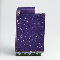 lauren rolwing - Ron Nagle Purple Slab, 1983 ceramic