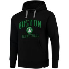 Men s Boston Celtics Fanatics Branded Black Indestructible Pullover Hoodie  Boston Celtics f6cf9138a
