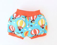 Bloomers AIR BALLOON Baby Children Bubble  Shorts pattern Pdf by PUPERITA