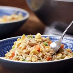 Chinese Chicken Fried Rice Recipe by Tasty
