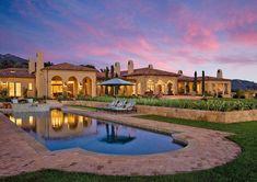Mediterranean hilltop estate offers inviting luxury in Santa Barbara