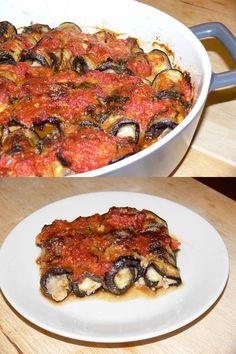 Involtini di Melanzane Salentini - Cottura e in Piatto