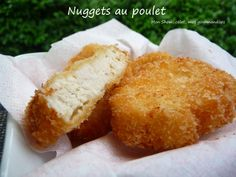 Nuggets d'Anne-Sophie PIC et panure Panko Anne Sophie Pic, Cornbread, Cheese, Ethnic Recipes, Food, Drizzle Cake, Cooking Recipes, Poultry, Sweet Treats