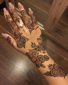 Eid Mehndi Designs, Henna Tattoo Designs, Henna Tattoos, Henna Flower Designs, Wedding Henna Designs, Pretty Henna Designs, Modern Henna Designs, Indian Henna Designs, Latest Henna Designs