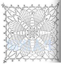 Croche maravilha de arte: decoração