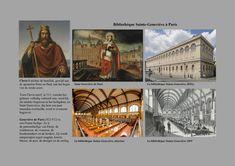 Clovis I (481-511) stichtte de baseliek, gewijd aan Petrus en Paulus, aan het begin van de zesde eeuw. Toen hij stierf, in 511, voordat het gebouw volledig voltooid was, werd hij begraven in het heiligdom, en Saint Geneviève, werd er eveneens begraven. Geneviève de Paris (422-512) is een Franse heilige. Ze is de patroonheilige van Parijs, de wijnboeren, de vrouwen, de hoedenmakers en de herders. Zij wordt aangeroepen tegen oogpijn, koorts, blazen, de pest, de droogte en de oorlog. Special Pictures, Saints, Movie Posters, Movies, Art, Art Background, Films, Film Poster, Kunst