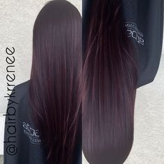 Deep plum purple tint hair | Shared by Fireman's Finds |