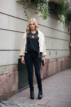 street style | classy black