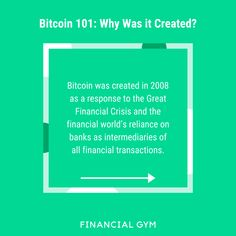 Many of our clients ask the modern-day question: Should I be investing in Bitcoin? With the recent news of Bitcoin exceeding 20,000, there has been extra buzz about the cryptocurrency. We are not here to tell you whether you should or should not invest in Bitcoin. That's a decision that is very personal and will differ from person to person. What we are here to do is explain to you (as simply as possible!) what exactly Bitcoin is and why it was created. Recent News, Cryptocurrency, To Tell, Budgeting, Investing, Told You So, How To Get, This Or That Questions, Create