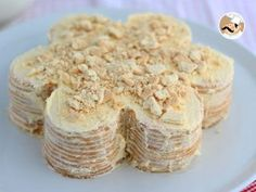 Today we offer you the recipe of a typical Portuguese dessert : bolo de bolacha. Try out this really simple recipe to test a new way to eat biscuits ! - Recipe Dessert : Biscuit cake, or bolo de bolacha - video recipe ! by PetitChef_Official Cookie Desserts, No Bake Desserts, Just Desserts, Cookie Recipes, Dessert Recipes, Portuguese Desserts, Portuguese Recipes, Food Cakes, Portuguese Biscoitos Recipe