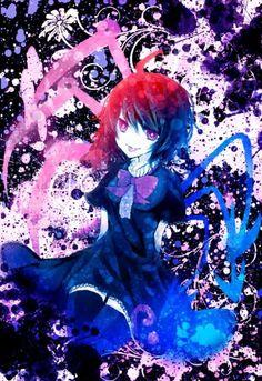 Houjuu Nue~Touhou by Mirimo Shrine Maiden, Gifted Kids, 3d Background, Manga Characters, Anime Artwork, Kawaii Anime, Cool Pictures, Chibi, Fan Art