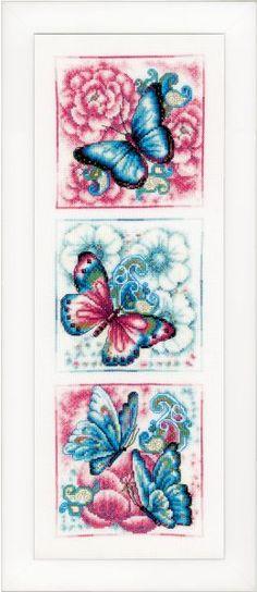 Telpakket Blauwe vlinders вервако