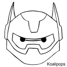 baymax face | Next I cut the Baymax face into pieces. This will come in handy after ...