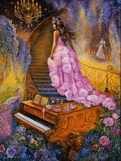 Josephine Wall_Melody in Pink