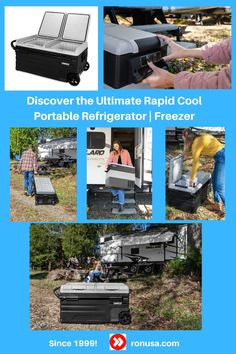 Discover the Ultimate Rapid Cool Portable Refrigerator | Freezer.