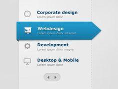 20 Beautiful Web Page Menu Design