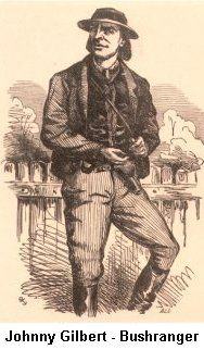 Johnny Gilbert - Bushranger Penal Colony, Australian Bush, British Army, Little Books, New Zealand, Ranger, Crime, Hero, Gangsters