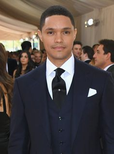 Pin for Later: Feast Your Eyes on All the Handsome Celebrity Guys at the Met Gala Trevor Noah