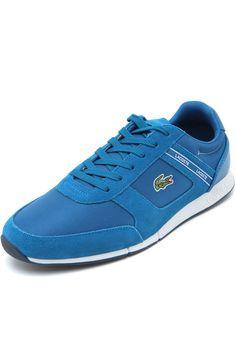 fe678e0293 Tênis Lacoste Menerva Sport 318 1 Cam Azul