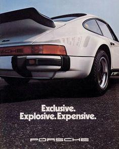 Advertising back then - Porsche Club for the classic 911 Südwest eV Porsche 911 Targa, Porsche Autos, Porsche Sports Car, Porsche Club, Porsche Models, Porsche Motorsport, Ferdinand Porsche, Porsche Classic, Volkswagen