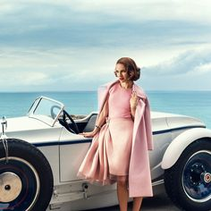 This candy-coated vintage looking shoot of Natalie Portman by Norman Jean Roy makes my heart a'flutter! We've been Natalie Portman fans since the days of Leon and Beautiful Girls, so se… Jean Reno, Natalie Portman Tumblr, Revista Bazaar, Fashion Shoot, Editorial Fashion, Fashion Art, Fashion Online, Norman Jean Roy, Nathalie Portman