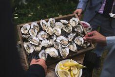 Oyster bar | Wedding Food Ideas | www.weddingsite.co.uk