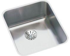 Image for Gourmet (Lustertone) Stainless Steel Single Bowl Undermount Sink Kit from elkay-consumer