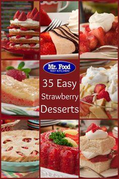 35 Easy Strawberry Desserts