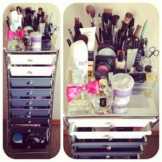 #makeup #brushes #organization
